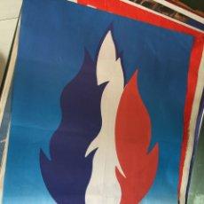 Carteles Políticos: RARO CARTEL POLÍTICO FRENTE NACIONAL FRANCÉS,LE PEN,FRANCIA,FNJ. Lote 199123208