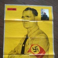 Carteles Políticos: RUDOLF HESS - POSTER ESPECIAL I.M.O. AÑOS 80 // TERCER REICH NAZISMO NACIONAL SOCIALISMO NSDAP WWII. Lote 202303255