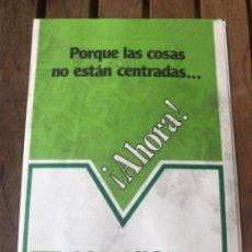 Affissi Politici: PROGRAMA COALICIÓN DEMOCRÁTICA. ELECCIONES 1979. POLÍTICA.. Lote 204394651