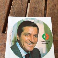 Carteles Políticos: ADHESIVO PEGATINA ADOLFO SUÁREZ UNIÓN DE CENTRO DEMOCRÁTICO UCD ELECCIONES GENERALES 1979. Lote 204409505