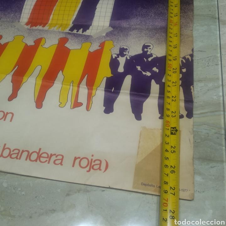 Carteles Políticos: Cartel República comunista de España bandera roja - Foto 6 - 204709833