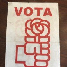 Carteles Políticos: PANFLETO ELECTORAL PSOE. PARTIDO SOCIALISTA OBRERO ESPAÑOL. ELECCIONES GENERALES 1979. Lote 204803645
