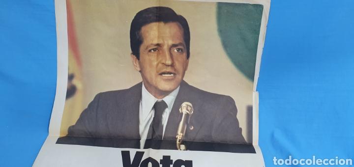 Carteles Políticos: Cartel original propaganda electoral vota ucd Adolfo Suárez 1979 - Foto 3 - 207534405
