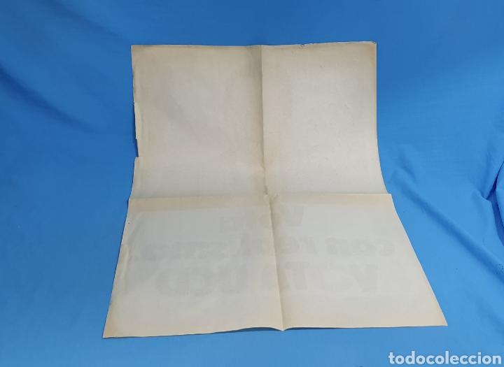 Carteles Políticos: Cartel original propaganda electoral vota ucd Adolfo Suárez 1979 - Foto 5 - 207534405