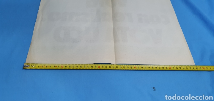 Carteles Políticos: Cartel original propaganda electoral vota ucd Adolfo Suárez 1979 - Foto 7 - 207534405
