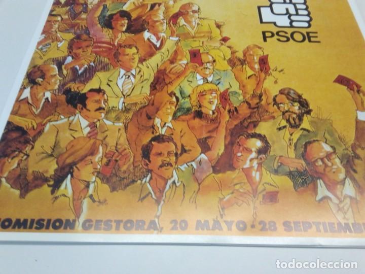 Carteles Políticos: CARTEL CAMPAÑA PSOE. CONGRESO EXTRAORDINARIO FORJANDO SOCIALISMO - Foto 3 - 207731195