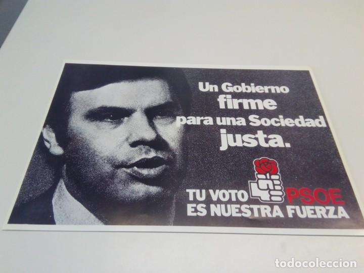 Carteles Políticos: Cartel Campaña PSOE Tu voto es nuestra fuerza. - Foto 2 - 207731778