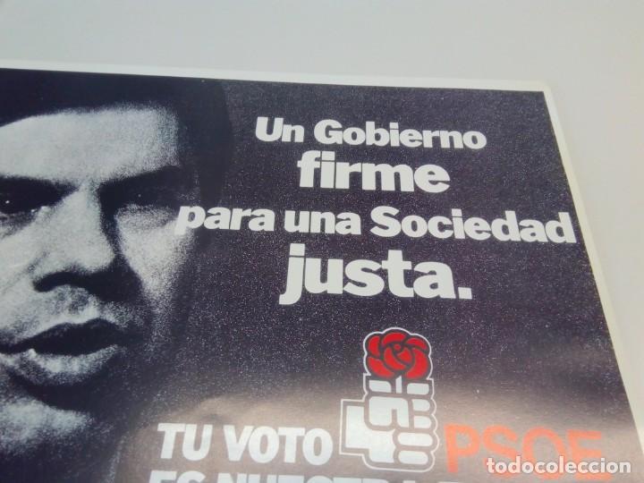 Carteles Políticos: Cartel Campaña PSOE Tu voto es nuestra fuerza. - Foto 3 - 207731778