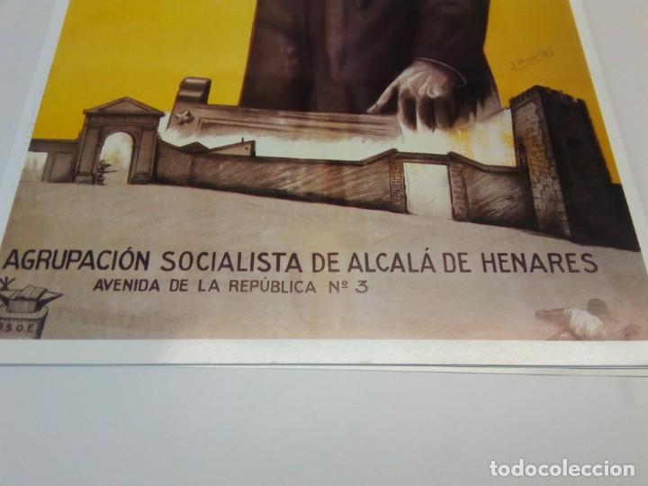 Carteles Políticos: Cartel Campaña PSOE Agrupación Socialista de Alcalá de Henares - Foto 2 - 207731936