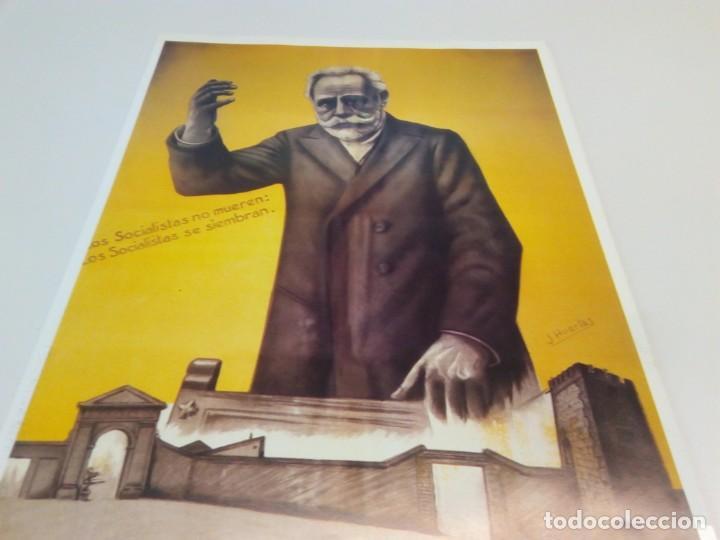 Carteles Políticos: Cartel Campaña PSOE Agrupación Socialista de Alcalá de Henares - Foto 3 - 207731936
