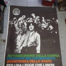 Carteles Políticos: CARTEL PARTIDO SOCIALISTA ITALIANO 1978. Lote 207893668