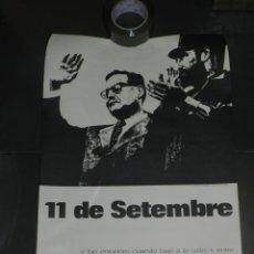 Carteles Políticos: (M) CARTEL POLÍTICO - 11 DE SETEMBRE 1976 - POEMA DE RAFAEL ALBERTI, 63X43CM, SEÑALES DE USO. Lote 209419932