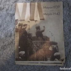 Carteles Políticos: ESCUELA MAYOR DE MANDOS MAYO 1939-1942 CASTILLO DE LA MOTA MEDINA DEL CAMPO. Lote 211519500