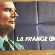 Carteles Políticos: EXCEPCIONAL CARTEL ELECTORAL. PRESIDENTE FRANCOIS MITTERRAND. CAMPAÑA PRESIDENCIAL FRANCESA DE 1988. Lote 211607862