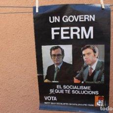 Carteles Políticos: CARTEL POLITICO. Lote 219252665
