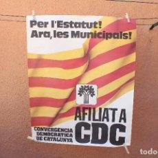 Affiches Politiques: CARTEL POLITICO. Lote 219309848