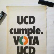 Affiches Politiques: CARTEL UCD. VOTA. Lote 219965143