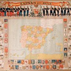 Carteles Políticos: ESPAÑA EN 1898. Lote 221124800