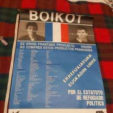 Carteles Políticos: CARTEL POLITICO BOIKOT. Lote 225000430