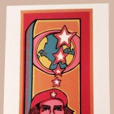 Affissi Politici: CHE - SERIGRAFÍA ORIGINAL IMPRESA A MANO - CARTEL DE 1968 POR RAÚL MARTÍNEZ - ICAIC CUBA. Lote 226659946