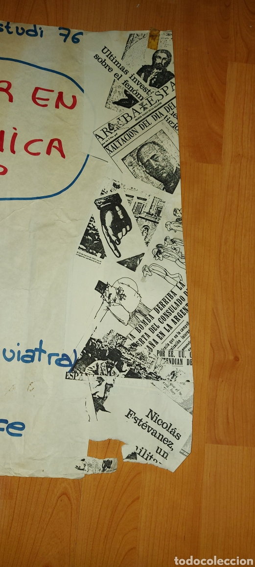 Carteles Políticos: Cartel político CORP J. Palet 1976 El poder en la dinàmica de grup - Foto 3 - 228793605