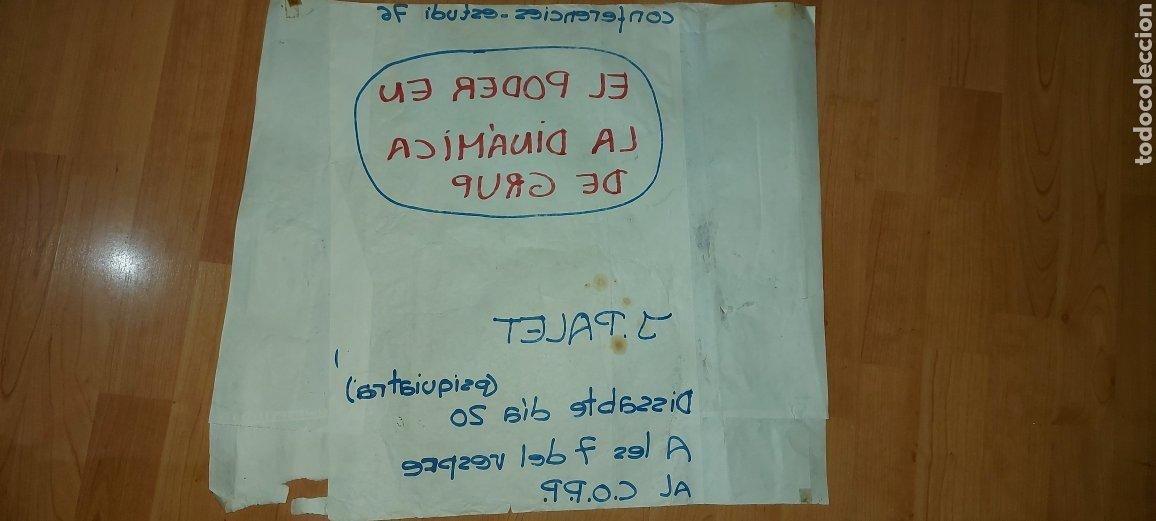 Carteles Políticos: Cartel político CORP J. Palet 1976 El poder en la dinàmica de grup - Foto 4 - 228793605