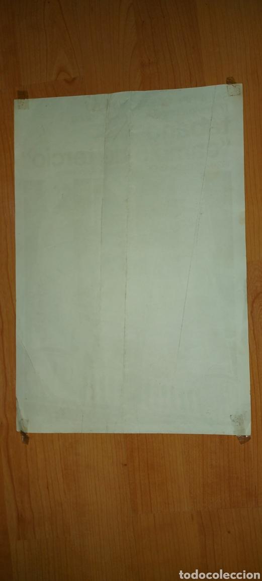 Carteles Políticos: Cartel sala del casal Mataró 1976 Tabano Cambio de tercio de la dictadura a la República - Foto 2 - 228803610