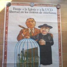 Carteles Políticos: CARTEL POLÍTICO TRANSICIÓN MC EMK MC-OIC. Lote 235931630