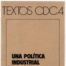 Affissi Politici: FOLLETO CONVERGÈNCIA DEMOCRÀTICA DE CATALUNYA 1977. Lote 237726810