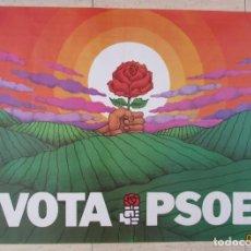 Affissi Politici: CARTEL ELECCIONES MUNICIPALES PSOE 1979. Lote 238313030