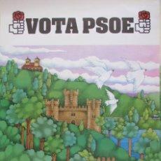Affissi Politici: CARTEL ELECCIONES MUNICIPALES PSOE 1979. Lote 238314265