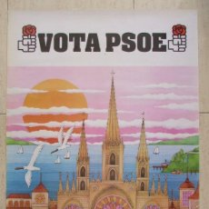 Affissi Politici: CARTEL ELECCIONES MUNICIPALES PSOE 1979. Lote 238316060
