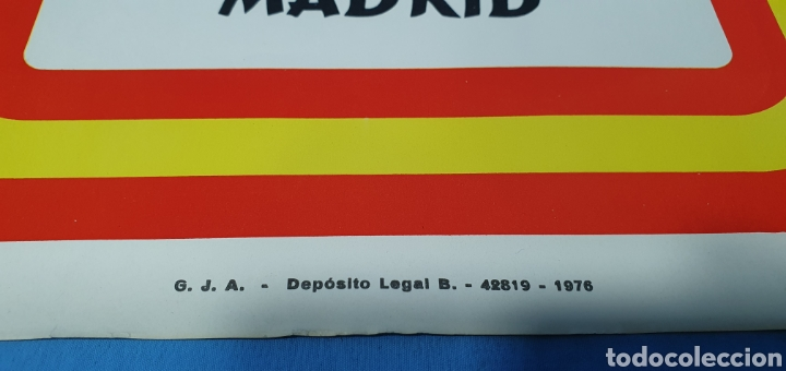 Carteles Políticos: CARTEL DE PROPAGANDA POLÍTICA - MARCHA UNIDAD NAL. 20-N - PZA. ORIENTE- MADRID 1976 IMAGEN FRANCO - Foto 3 - 242273260