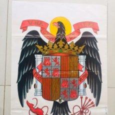 Carteles Políticos: ANTIGUO CARTEL FUERZA NACIONAL DEL TRABAJO,FUERZA NUEVA,FUERZA JOVEN,TRANSICIÓN FALANGE,FRANCO. Lote 243593500