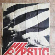 Affissi Politici: PSUC. VOLEM L'ESTATUT. AÑOS 70. Lote 244509595