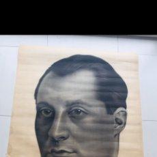 Carteles Políticos: ANTIGUO Y ORIGINAL CARTEL GUERRA CIVIL ESPAÑOLA,JOSE ANTONIO PRIMO DE RIVERA,FALANGE,FRANCO. Lote 252592165