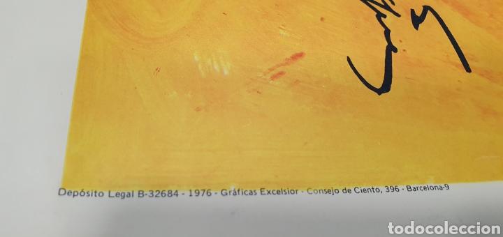 Carteles Políticos: CARTEL DE TAPIES - PSUC: PER CATALUNYA, LA DEMOCRÀCIA I EL SOCIALISME - GRÁFICAS EXCELSIOR 1976 - Foto 5 - 253638790