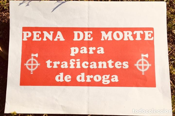 ANTIGUO CARTEL POLÍTICO NACIONAL REVOLUCIONARIO,FASCISMO,ARTÍCULO COLECCIONISMO,PORTUGAL,FOLIO (Coleccionismo - Carteles gran Formato - Carteles Políticos)