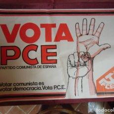 Affissi Politici: CARTEL ELECCIONES GENERALES 1977.VOTA PARTIDO COMUNISTA DE ESPAÑA. 65X45 CM.. Lote 271670703