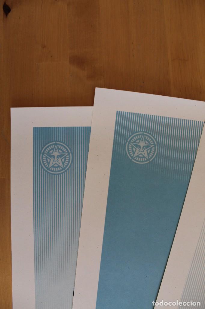 Carteles Políticos: Lote de 3 Litografías Offset de Obey - We the People- Tamaño gigante - 61 x 91 cm - Foto 6 - 272740943