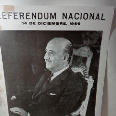 Carteles Políticos: CARTEL FRANCISCO FRANCO BAHAMONTES ORIGINAL NO COPIA. REF.AUTO. Lote 276822368