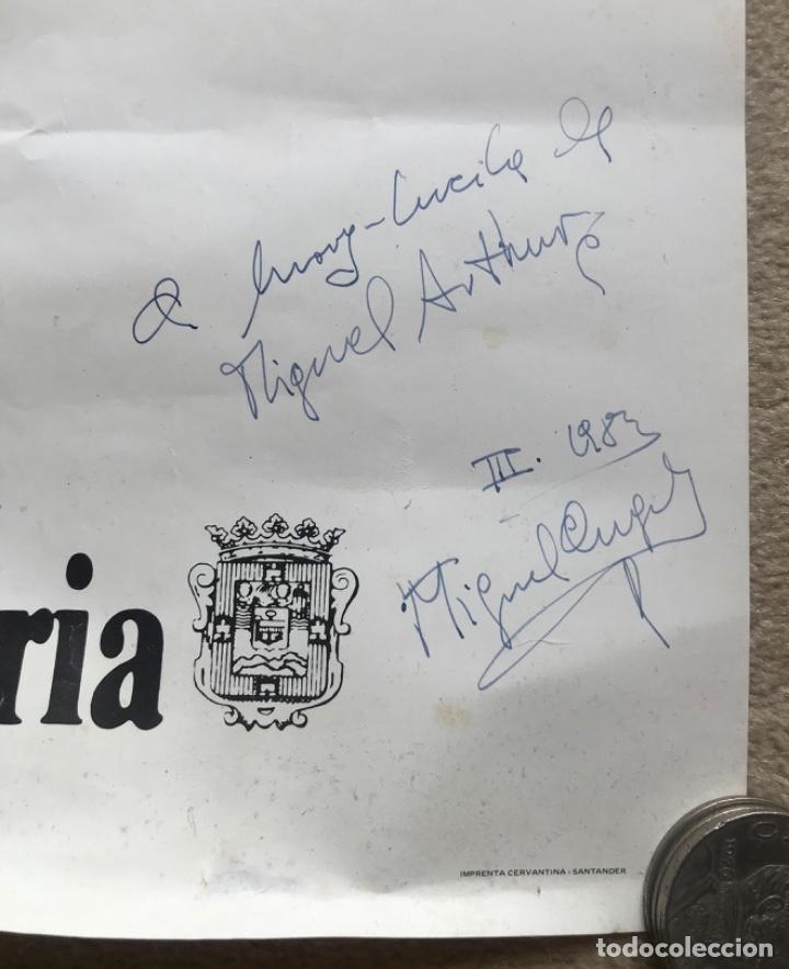 Carteles Políticos: Cartel político Un Año de Estatuto hace Autonomía - Gobierno de Cantabria - Año 1982 - Transición - Foto 3 - 287667153