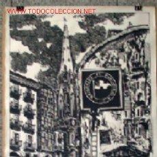 Carteles Publicitarios: CARTEL DE BILBAO .. SANTIAGO Y EL PERRO .. PINTADO K.TOÑO FRADE MIGA. Lote 14121770