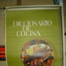 Carteles Publicitarios: DICCIONARIO DE COCINA - IRIS ENCICLOPEDIA - 1965. Lote 27530201