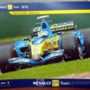 Carteles Publicitarios: POSTER OFICIAL RENAULT F1 TEAM. FERNANDO ALONSO / GIANCARLO FISICHELLA. Lote 26736868
