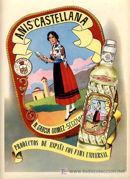 Cartel publicidad anis la castellana n garc comprar carteles antiguos publicitarios en - Carteles publicitarios antiguos ...