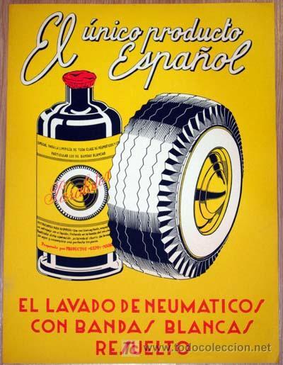 Cartel publicidad paralatex producto para lavad comprar carteles antiguos publicitarios en - Carteles publicitarios antiguos ...