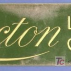 Affiches Publicitaires: LACTON. LECHE PURA CONDENSADA. CARTON PUBLICITARIO. SIN FECHA.. Lote 21958789