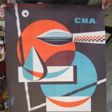 Carteles Publicitarios: VALENCIA - 3º SALON NACIONAL DE LA ACUARELA - MAYO 1960. Lote 26797725