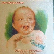 Carteles Publicitarios: CARTEL PUBLICITARIO-DENTAMÍN-34/25 CM.. Lote 4010622